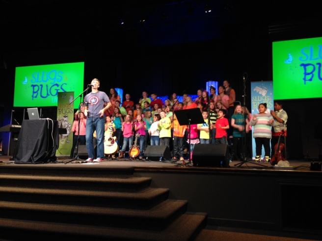 These kids (and their leaders) set the bar HIGH for the future kids choirs. If you've got kids that like to sing, We'd love to do a Sing the Bible concert at your church in 2015!