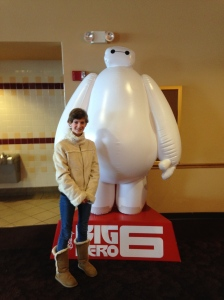 We had time in the morning and went to see Big Hero Six. Also Amazing! Seriously, go see it.