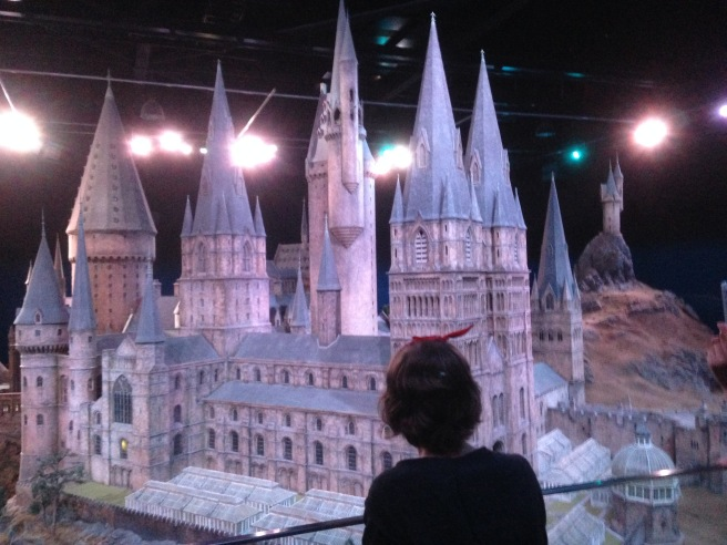 Scale model of Hogwarts School of Witchcraft and Wizardry.