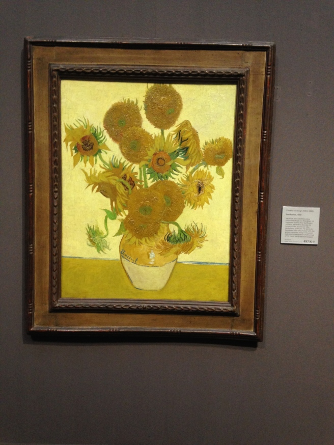 Vincent Van Gogh painted this painting. But that was a while ago...